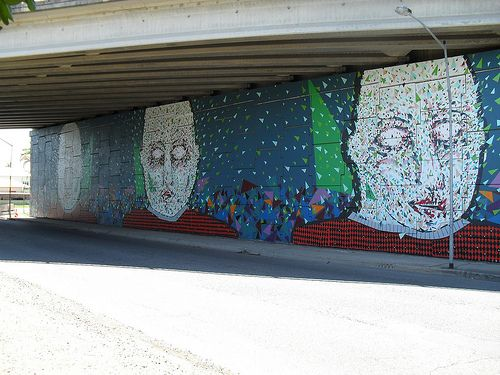 A Northgate Overpass Mural in #Brisbane. #bneculture What do you think?