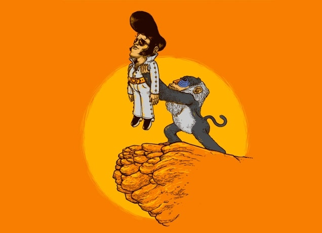 """""""The King"""" - Threadless.com - Best t-shirts in the world"""