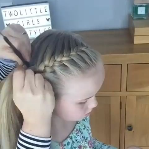 The French Crown Braid tutorial