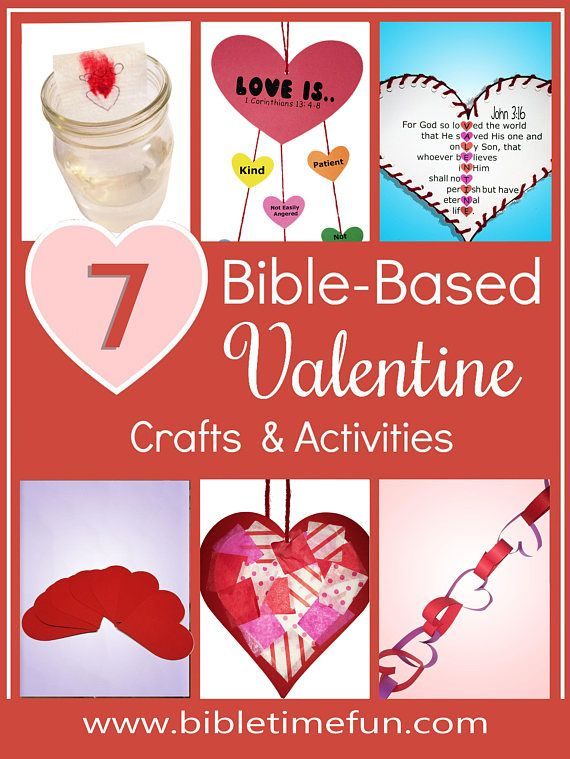 Bible Time Week of Love Bible Based Valentine's Day Crafts and Activities for Toddlers and Preschoolers