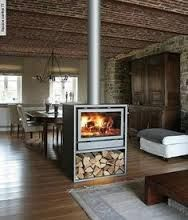 Image result for morso double sided fireplace