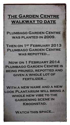 Plantarium where you come and view plants and enjoy the garden centre...