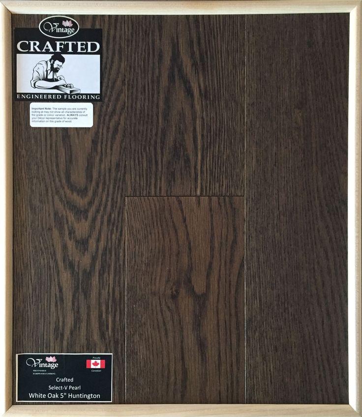 """Included Engineered Hardwood Flooring - White Oak 5"""" Huntington"""
