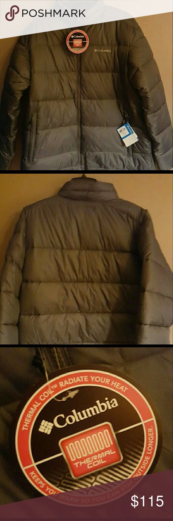 Men's Columbia Coat XL Brand new with tags. Fully zippered front. Men's size XL. Thermal Coil. Columbia Jackets & Coats Performance Jackets