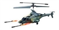 New 3.5 Channel U810 Fighter RC Gyro Control Helicopter w/ Launching Missiles