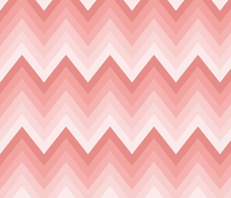 Mint Ombre Chevron Fabric Mgterry Spoonflower