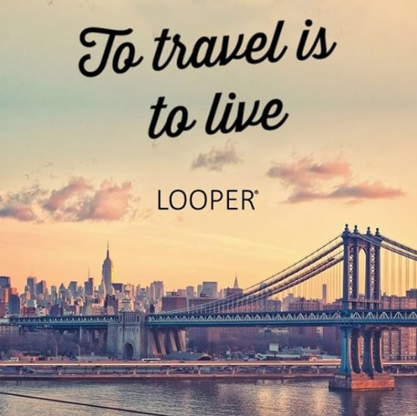 Charmant Travel Far Enough You Meet Yourself LooperTravel
