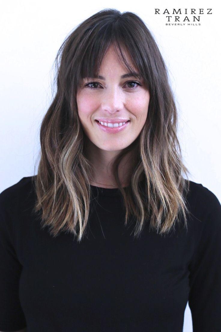 Ramirez Tran Salon Hair Bangs Pinterest Bangs And Salons