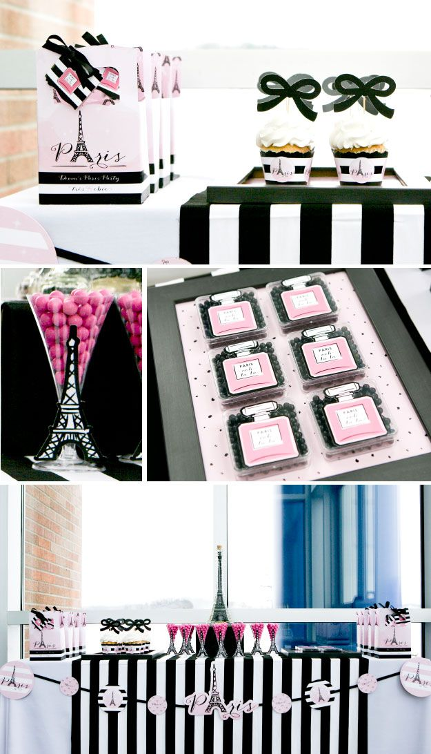 Paris Party Ideas and Decorations for a baby shower or birthday party #BigDot