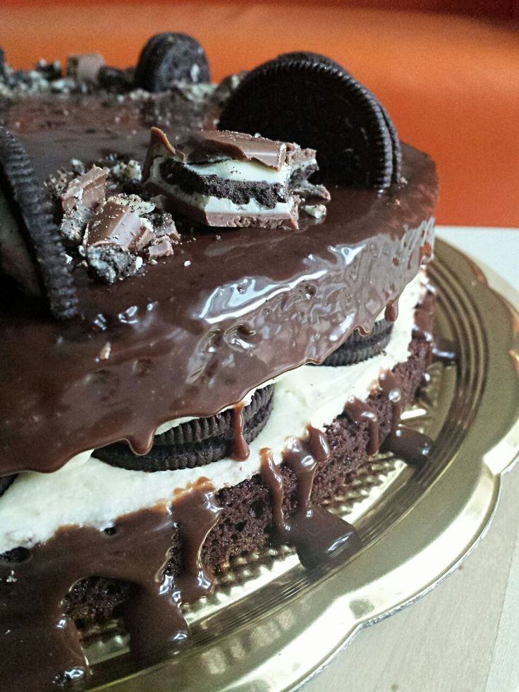 Milka Chocolate Oreo Cake