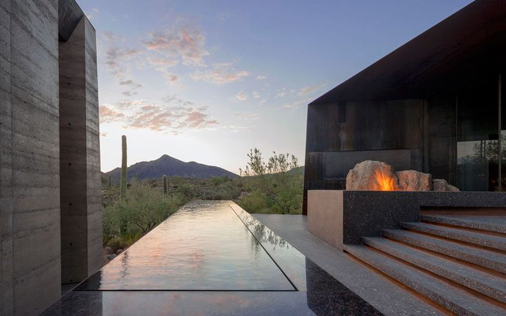 Wendell Burnette Architects, Bill Timmerman · Desert Courtyard House · Divisare