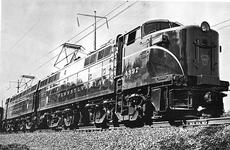 PRR E2c experimental electric Railroad