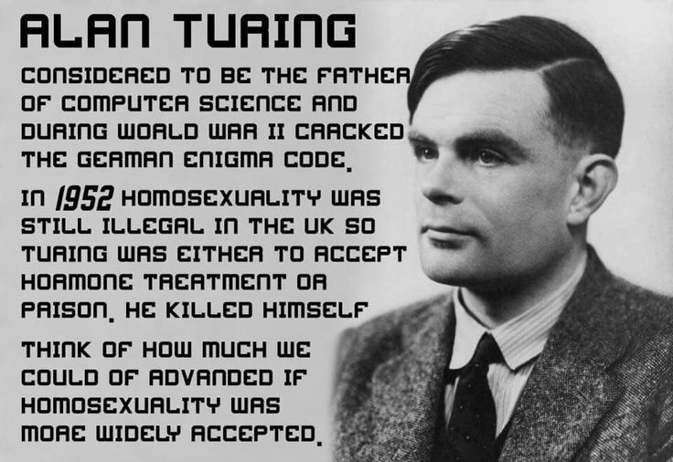 Alan Turing: father of computer science. He chose to kill him ...