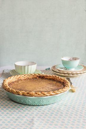 ( ^o^ ) Tarta de calabaza americana / Pumpkin pie