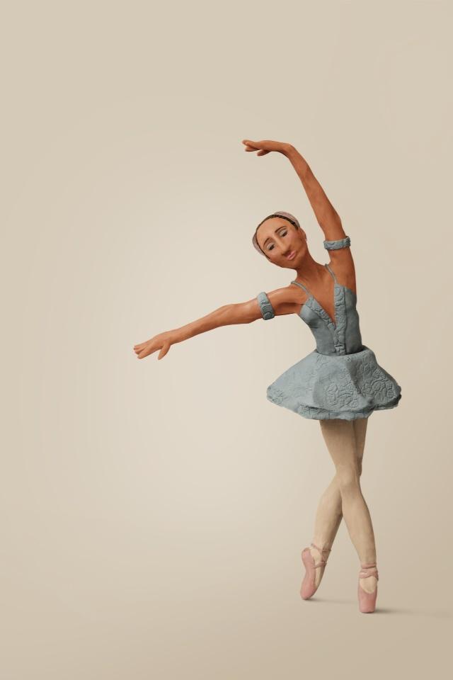 Bailarina plasticina