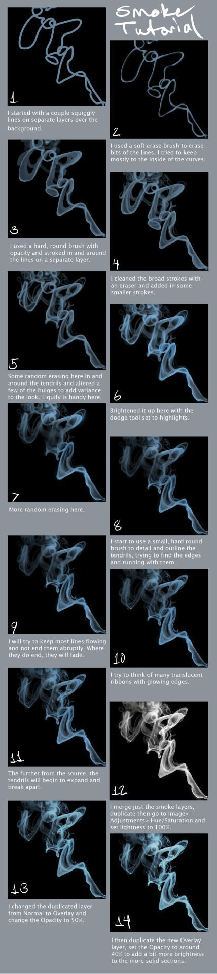 Smoke Tutorial by portohle – How to Art – #Art #portohle #Smoke #tutorial – #fri…