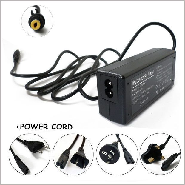 18.5V 3.5A 65W AC Adapter Battery Charger For Laptop HP Compaq 6520s 6720s NC6200 nc4000 nc4010 nc4200 nx6125