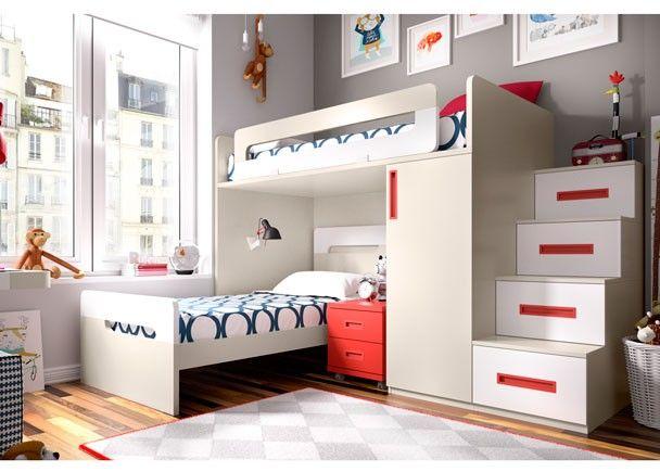 17 mejores ideas sobre camas para ahorrar espacio en pinterest ...
