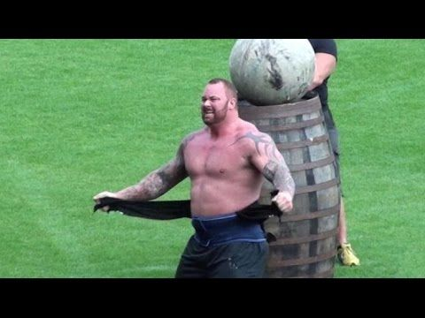 Europe's Strongest Man 2015 - Mountain Wins Again! Hafthor Bjornsson - YouTube