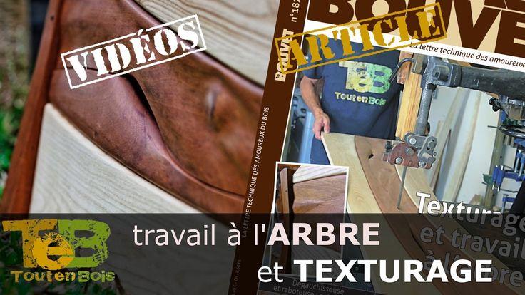 Présentation article du Bouvet & vidéos / techniques texturage et travai...