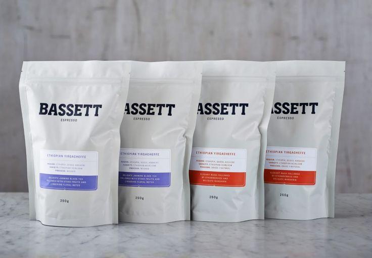 Bassett Espresso brand identity by SquadInk