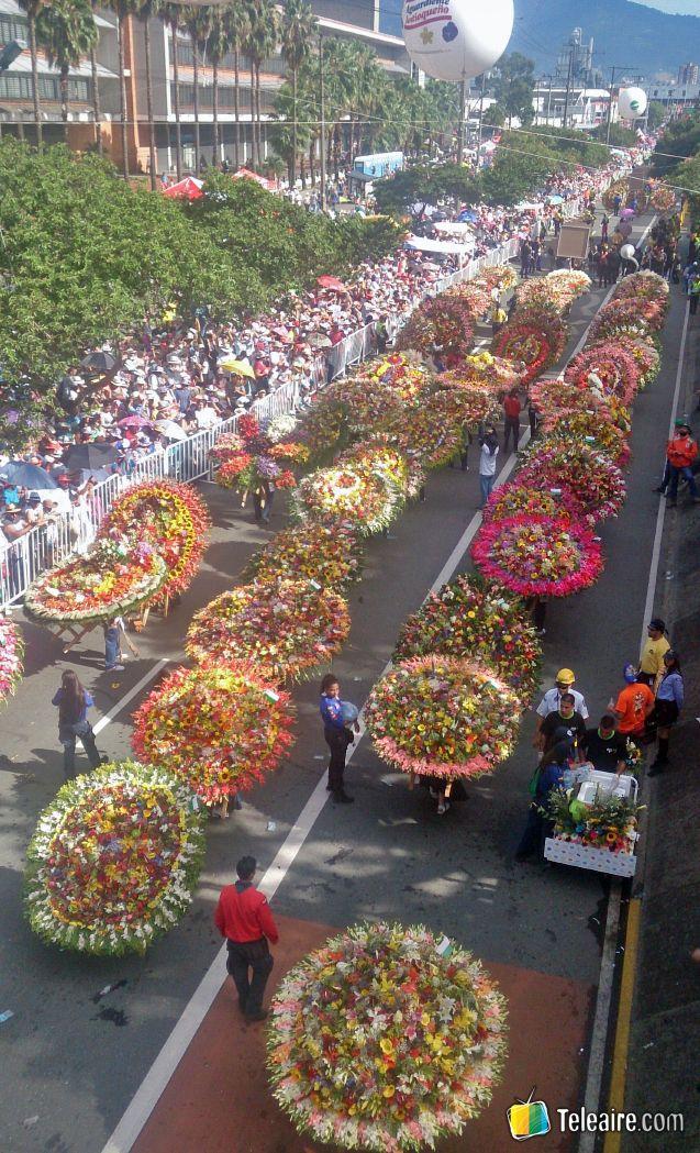 Hoy les compartimos todo sobre la Feria de las Flores de Medellín