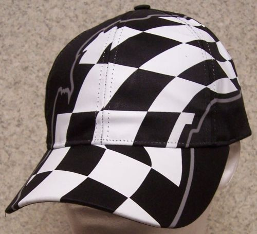 Embroidered-Baseball-Cap-Auto-Racing-Checkered-Flag-NEW-1-hat-size-fits-all