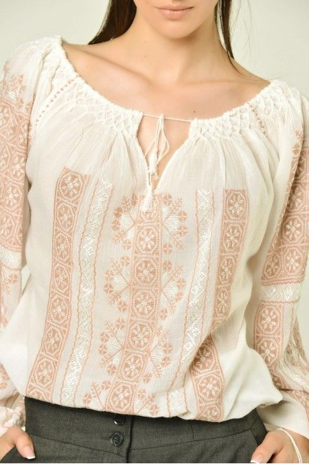 IA, La blouse romaine, the Romanian traditional blouse