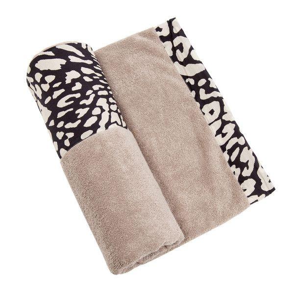 Sea Leopard - Black & White Towel