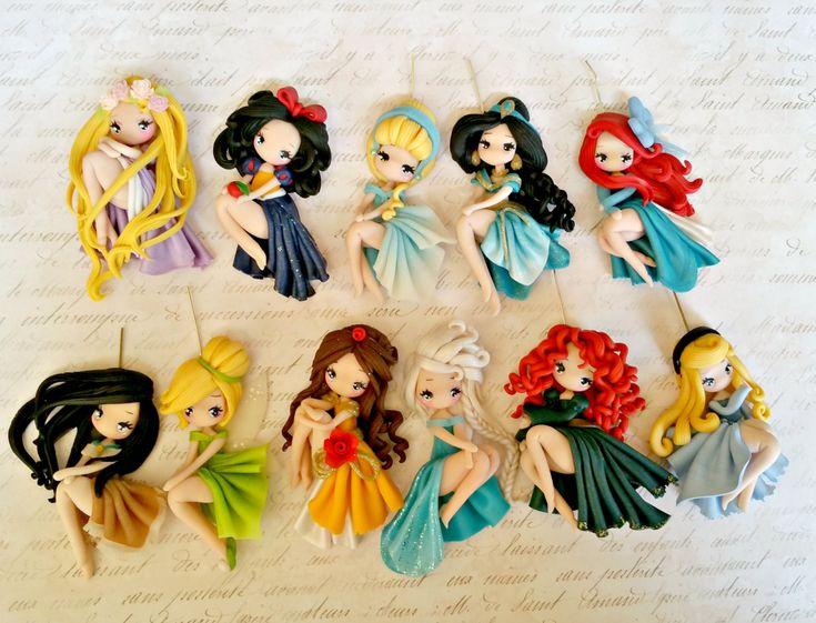 commande spéciale de colliers princesse par lapetitedeco sur Etsy