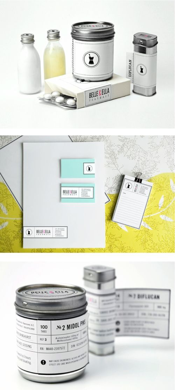 Belle & Ella simplicity in packaging branding marketing PD
