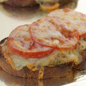 The EatingWell Tuna Melt - Tuna Salad Sandwich Recipes - Tuna Cheddar Melt Recipes - Delish