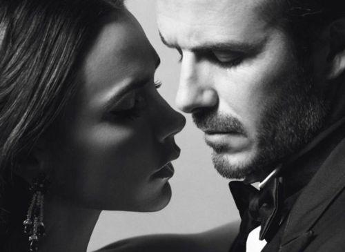 Victoria and David Beckham Vogue Paris
