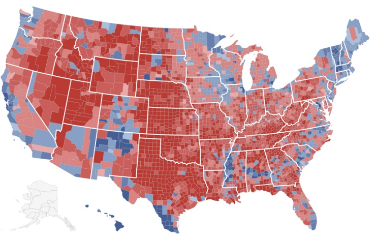 Presidential election results 2012