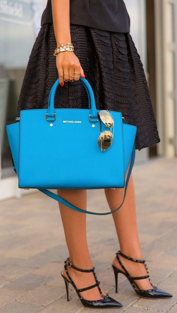 New In - Michael Kors Selma Bag by Vivaluxury