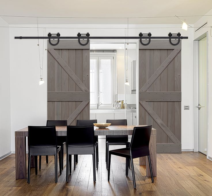 12 best BarnCraft Rolling Barn Doors Collection images on ...