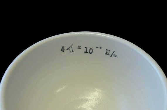 Permeability of Vacuum Porcelain Bowl