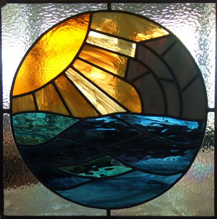 1000+ Images About Stained Glass Sun,Moon And The Stars On