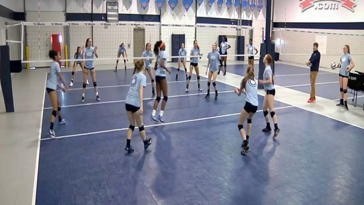 Best of Club Volleyball: Transition Training Drills - Max Miller