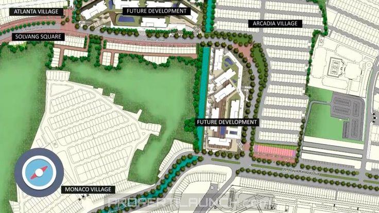 Peta Lokasi Arcadia Square Gading Serpong.