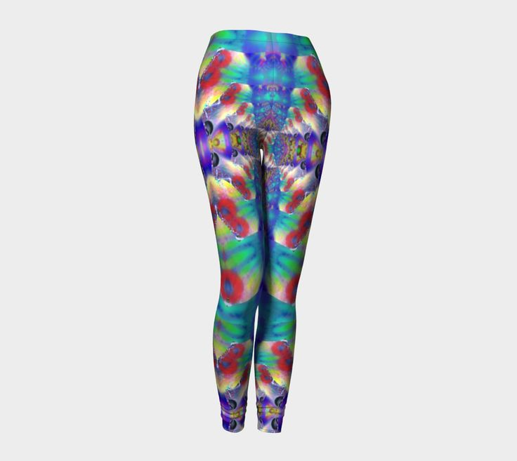 "Leggings+""fractal+glows""+by+Annabellerockz+"