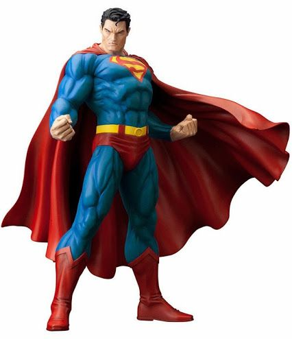 The Man of Steel stands ready to defend the planet with the DC Comics Superman for Tomorrow ArtFX Statue. Standing almost 12-inches tall and based on the artwork of Jim Lee in the For Tomorrow storyline, this highly-detailed statue reveals the Last Son of Krypton as he looked before his New 52 makeover. #superman #statue