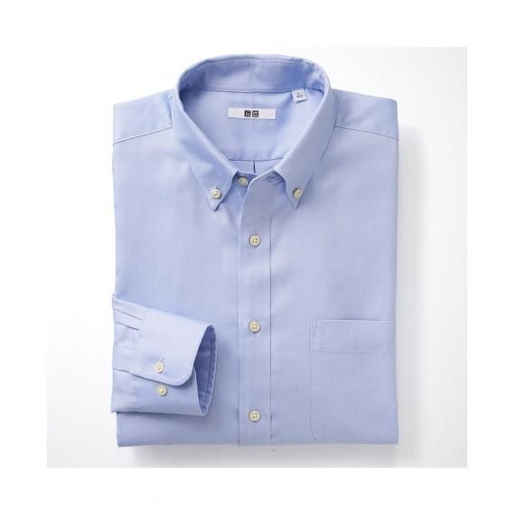 MEN Easy Care Oxford Long Sleeve Shirt