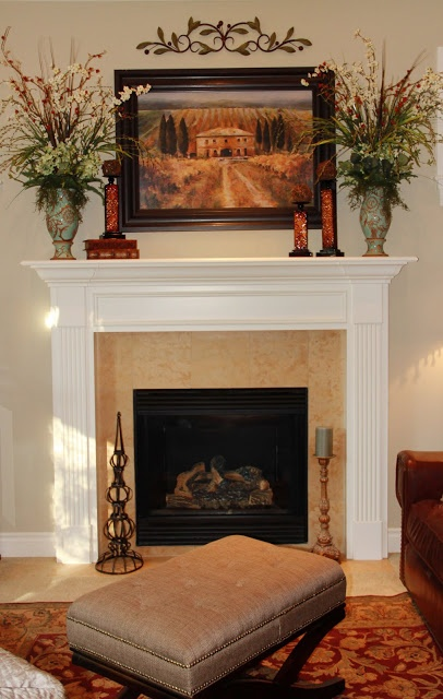 Tuscan Inspired Living Rooms