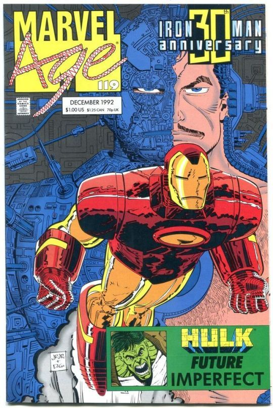 Marvel Age #119    Pencils: John Romita Jr.  Inks: Dan Green  Marvel (Dec1992)