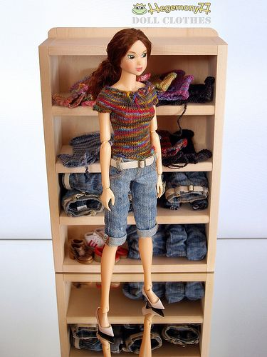 Momoko doll wardrobe ~ clothes by Hegemony 77. Cute! I'm going to make this!!