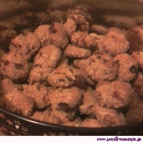 Apfel-Rosinen-Rum-Cookies