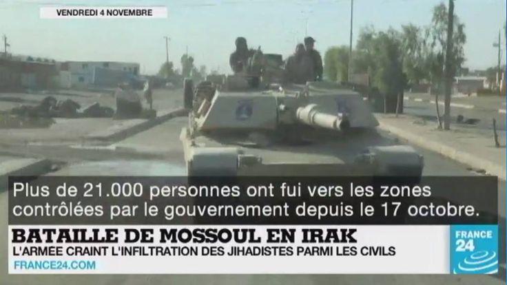Bataille de #Mossoul en #Irak, guerre en #Syrie, attentat en #Turquie, présidentielles #US... Le point sur l'actualité en VIDÉO