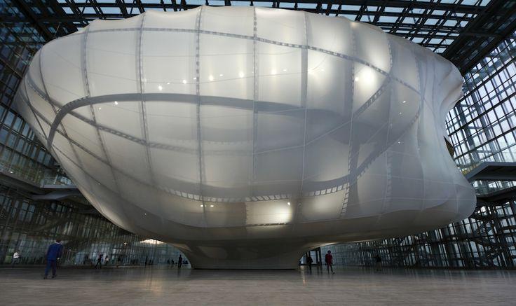 """centro congressi di Roma - """"Nuvola"""", dell'architetto Massimiliano Fuksas - (AP…"""