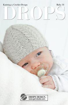 En pragtfuld kollektion af babyopskrifter i størrelser fra præmatur til 4 år, den indeholder de sødeste små huer, tøfler, sokker, sparkedragter, babytæpper og meget meget mere - alt er strikket og hæklet i vore blødeste garner!